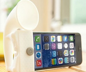 iPhone Speaker Amplifier Stand