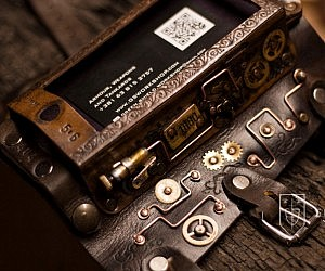 Steampunk iPhone Case Bracer
