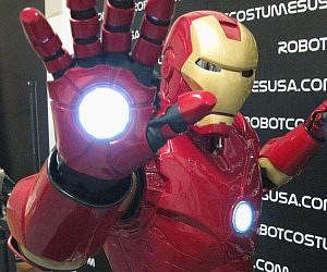 Deluxe Iron Man Costume