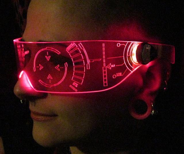 2219162142 Illuminated Cyber Visors