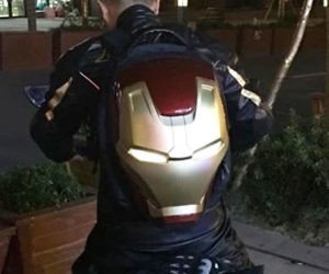 Iron Man 3D LED Backpack