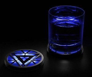 Iron Man Arc Reactor Coasters