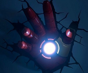 Iron Man 3D Hand Nightlight