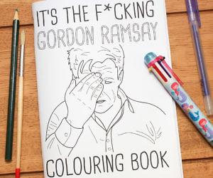 Gordon Ramsay Coloring Book