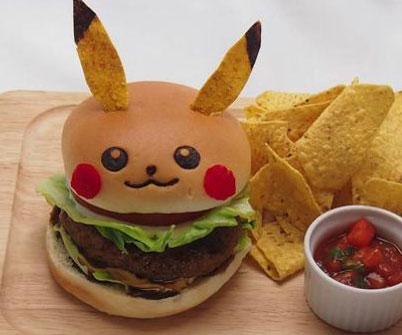Japanese Pikachu Cafe