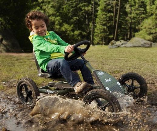 Jeep Pedal Kart