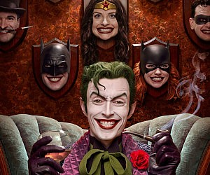 The Joker's Trophy Room Poster
