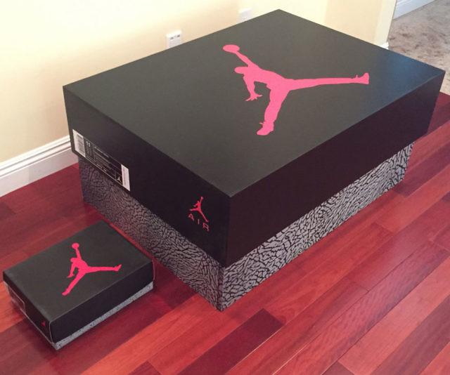 Jordan Retro Shoe Storage Box