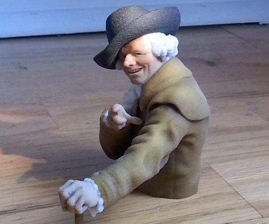 Joseph Ducreux Sculpture