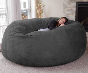 Magnificent Jumbo Bean Bag Chair Beatyapartments Chair Design Images Beatyapartmentscom