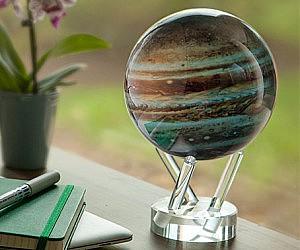 Spinning Jupiter Globe