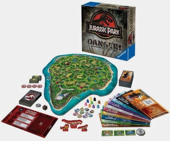 Jurassic Park Adventure Strategy Game - coolthings.us