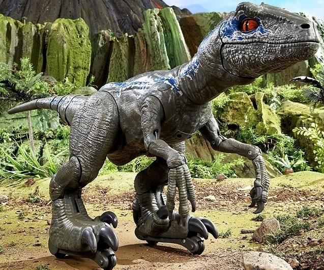 Jurassic World Trainable Robotic Pet Blue