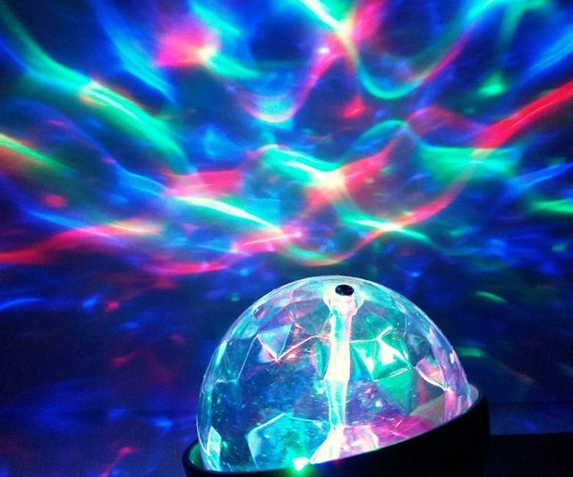 Kaleidoscope Light Show Projector & Light Show Projector azcodes.com