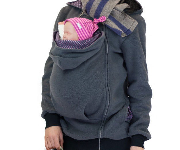 Pouch Hoodie - Hoodie with kangaroo pouch is the perfect cat accessory