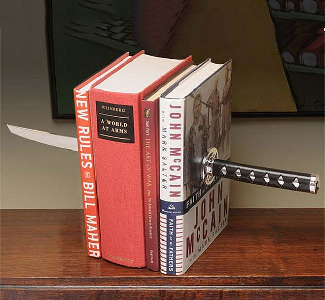Katana Sword Bookends