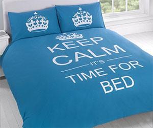 Keep Calm Bedspread
