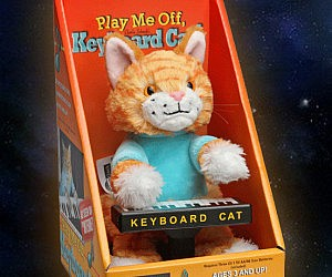 Keyboard Cat Animatronic Plushie