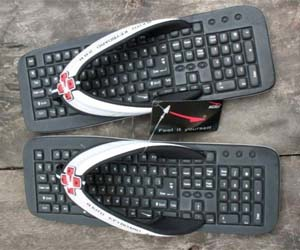 Keyboard Sandals