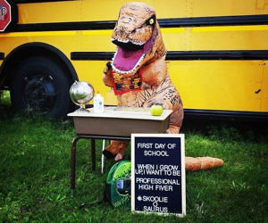 Kids Inflatable T-Rex Cost...