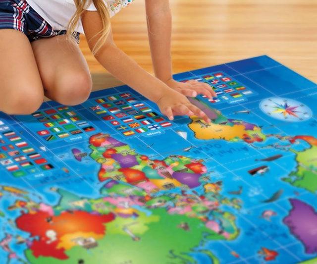 Kids Interactive World Map
