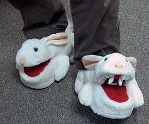 Executioner Rabbit Slippers