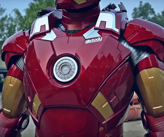 & Life Size Iron Man Suit