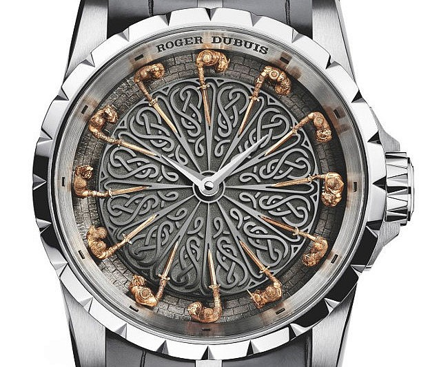 Knights of the round table wristwatch for 12 knights of the round table and their characteristics