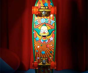 Krusty The Clown Skateboard Deck