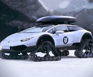 Lamborghini Huracan Snowmobile