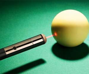 Laser Pool Cue