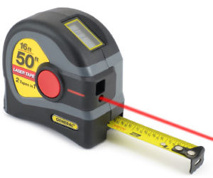 2-In-1 Laser Tape Measure