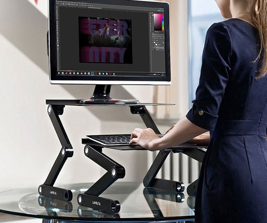 Ergonomic Folding Laptop Stand