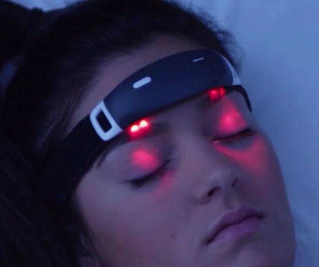 Lucid Dream Inducing EEG Headband