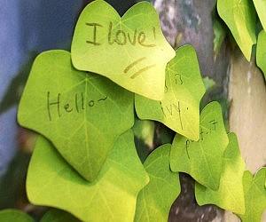 Leaf Sticky Notes
