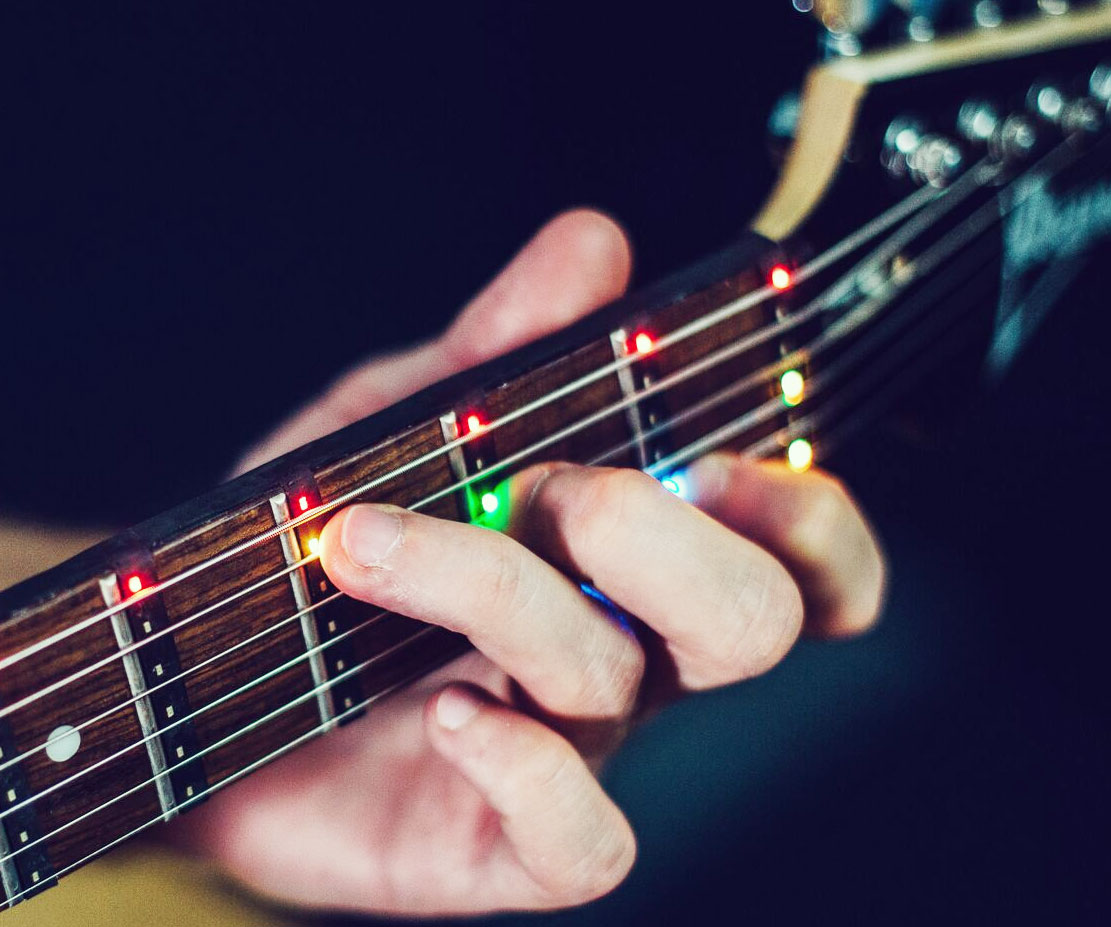 Guitar Learning LED Display System