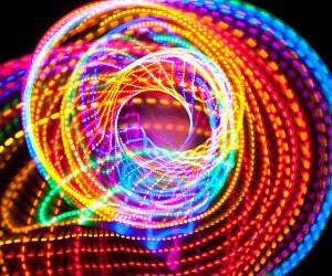 Strobe LED Hula Hoop