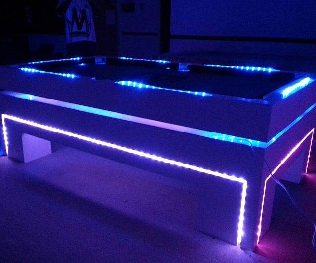 Glow In The Dark Pool Table - Neon pool table