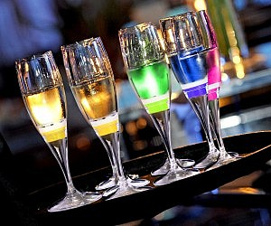Light Up Champagne Flute Cups