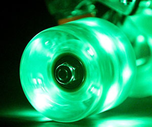 Light Up Skateboard Wheels