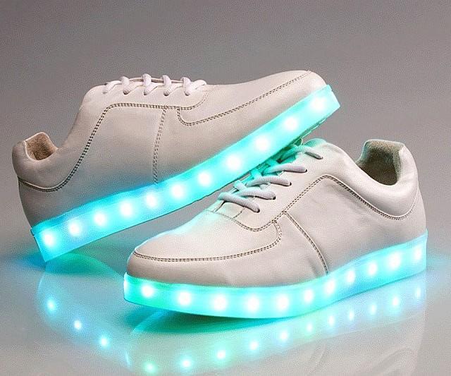 Led sneakers led shoes dance naava urtaz Choice Image