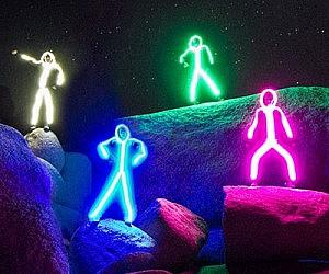 LED Stick Figure Costumes & Grandma Baby Costumes