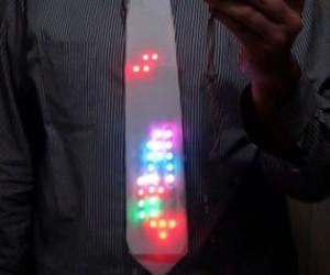 LED Tetris Tie