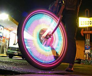 LED Waterproof Bike Wheel ...
