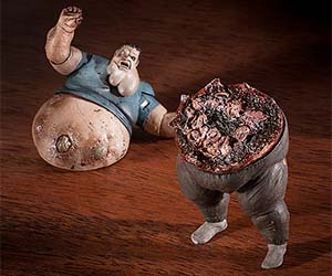 Left 4 Dead Boomer Figurine