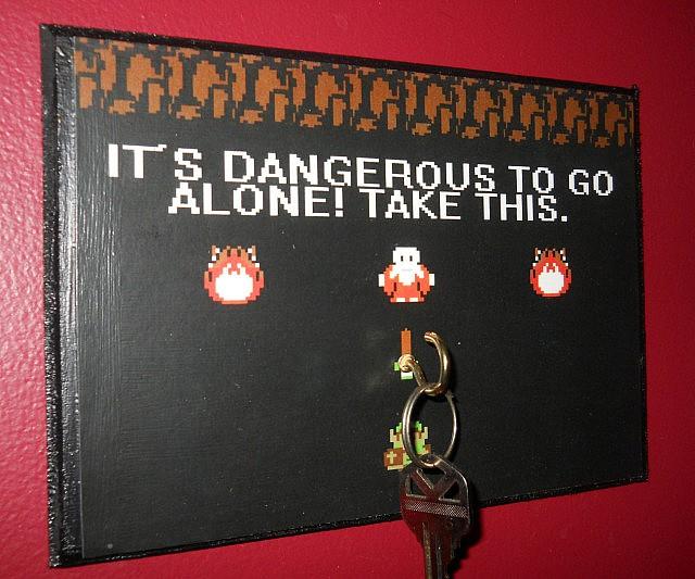 Zelda Key Hanger