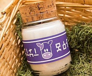 Zelda Lon Lon Milk Candle