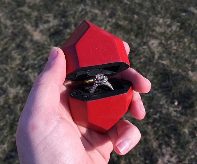 Rupee Engagement Ring Box
