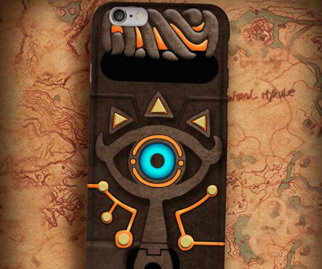 low priced d2055 caaf4 Zelda Sheikah Slate Phone Case