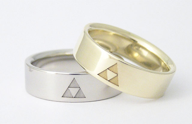 rings photo ringcomparison themed gamer wedding superfan designs ring n halo band